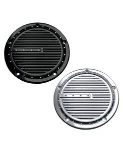 primary derby cover  - dimp black for 99-13 Twincam