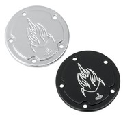 Carl Brouhard Design Point cover cam - lefty for 84-13 Twincam and 04-13 Sportster XL