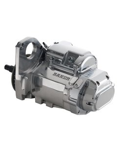 6-speed transmission - clear, black or polished