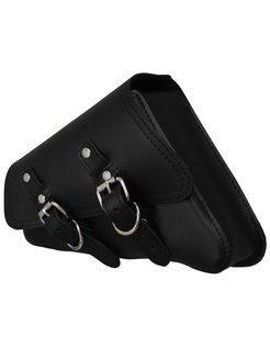 left side saddle bag, black XL 04-up