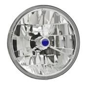 Adjure headlight diamond cut -trillient tri-bar lens