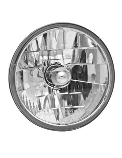 headlight diamond cut - smooth clear lens