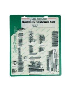 Builders Befestigungssatz, Allen - Chrome