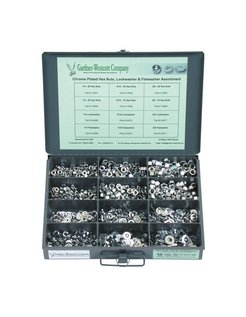 assortments nuts and lockwashers