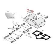 Engine  rocker box nut kit Fits:> 66-84 SHOVELHEAD