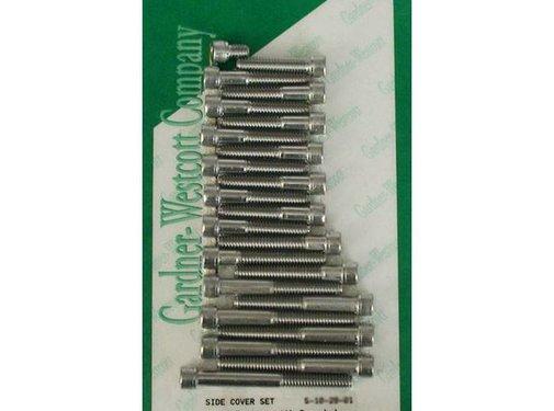 GARDNER-WESTCOTT primary cover bolt kits - ss