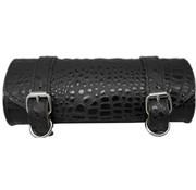 La Rosa bags black alligator toolbag