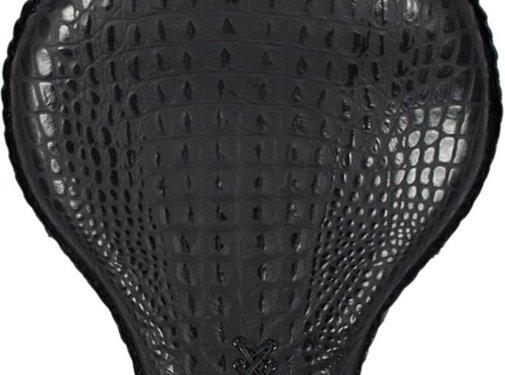 La Rosa 17-Zoll-Klassiker Solo Sitz Black Alligator