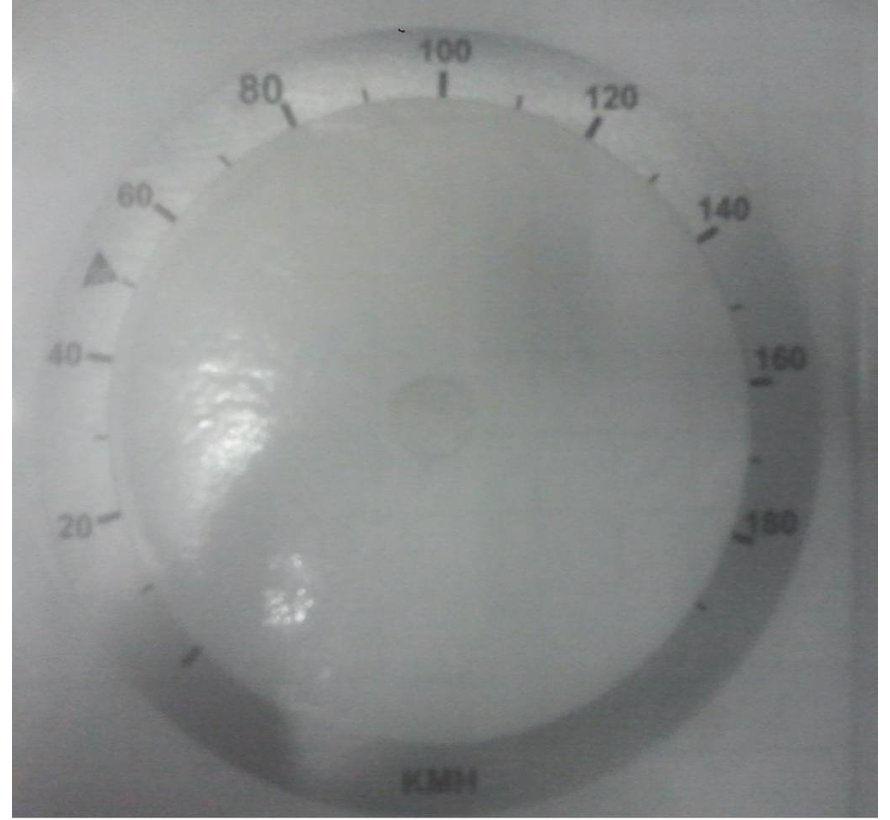 mph to km converter, miles to km - fits: 100mm or 80mm speedo