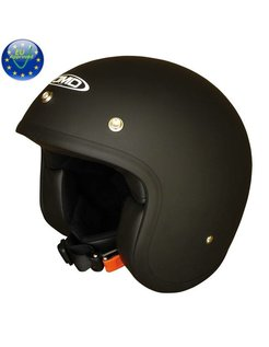 helmet Solid black Matt