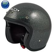 DMD Glitter negro casco