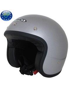 Glitter silber Helm