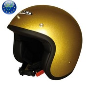 DMD helmet glitter gold
