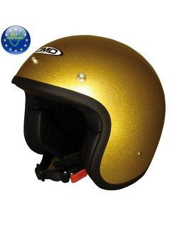 Glitter goldenen Helm