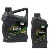 Eurol Oil Sae 20W50 twinlube-3 engine primairy and transmission synthetic V-Twin engines