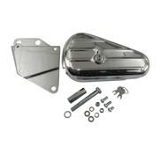 MCS tools  teardrop tool box - kit fits :>84-99 softail (exclude flsts)