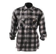 101inc Accessories checkered shirt - black and gray