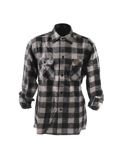 Accessories checkered shirt - black and gray