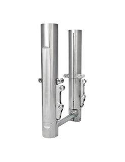 front fork lower leg assembly - Chrome