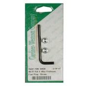 front fork suspension slider drain screw