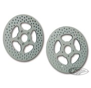 Revolution brake rotor star disc BT & XL 00-up Fits:> front and or rear models 2000-up