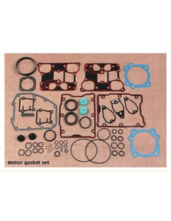 complete motor gasket kit, Bigtwins, 84-up