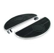MCS Controls floorboard pads Oval 40-84 FL - black
