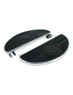 Diele Pads Oval, 40 bis 84 FL - schwarz