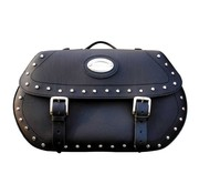 Longride bags Saddlebags Softail 07-14 studded