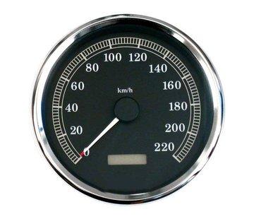 MCS Speedo Speedometer KMH 00-03 Softail; 95-03 FLHR