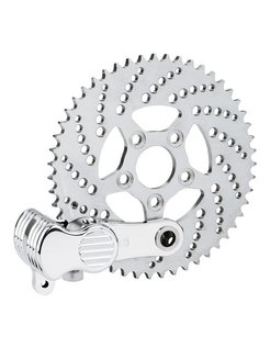 Sprocket brake kit, and replacement parts