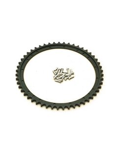 "Drum brake sprocket, 35-52 45"" SV (solo models, Inculde rivets)"