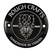 Rough Crafts Derby cubre Black- Bigtwins