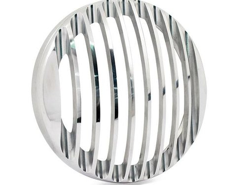 Rough Crafts headlight  grill polished- 5.75 inch