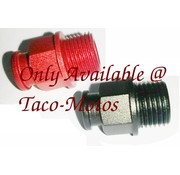 Taco-Motos Carburetor choke cable fitting aluminum