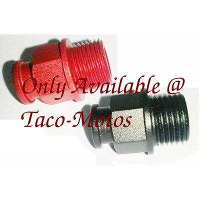 Taco-Motos chokekabel montage, aluminium