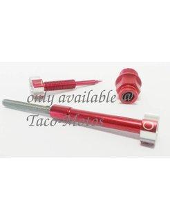 Einstellen Kit CV Vergaser - Red eloxiert