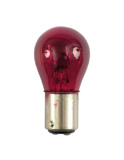 turn signal bulb dual filament Red 12V