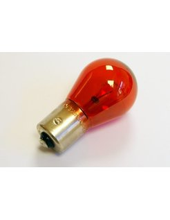 bulb single filament, Red; 12V