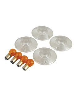 turn signal Flat lens clear lens kit