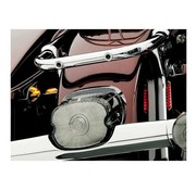 Kuryakyn taillight layback Smoke lense kit
