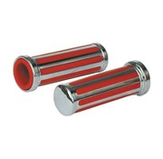 MCS handlebars Grips Rail red inlay