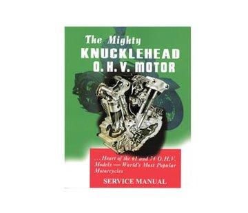 Wyatt Gatling Fabrieksdiensthandleiding voor 1940-1947 Knucklehead