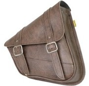 Willie + Max Luggage bags SWINGARM SADDLEBAG - Softail Brown