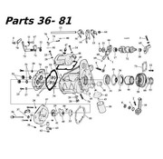 James 5 piezas de la transmisión de velocidad 80-06 Shovelhead / Evo y Twincam Bigtwin nr 36-81