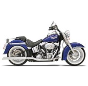 Bassani TRUE-double embout CROSSOVER Header - SOFTAIL 86-06
