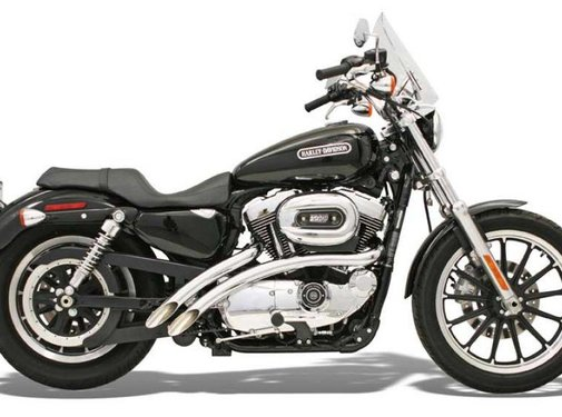 Bassani Abgas Radial -Sweeper, 86-03XL Sportster