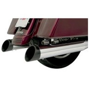 Bassani exhaust ENDCAP 4 inch  Quick Change Muffler Series Black Slash