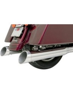 "ENDCAP 4"" Quick Change Muffler Series polished Slash"