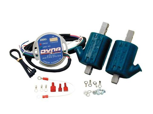Dynatek ignition single fire coil Dyna 2000I PLUG KIT 2 COILS